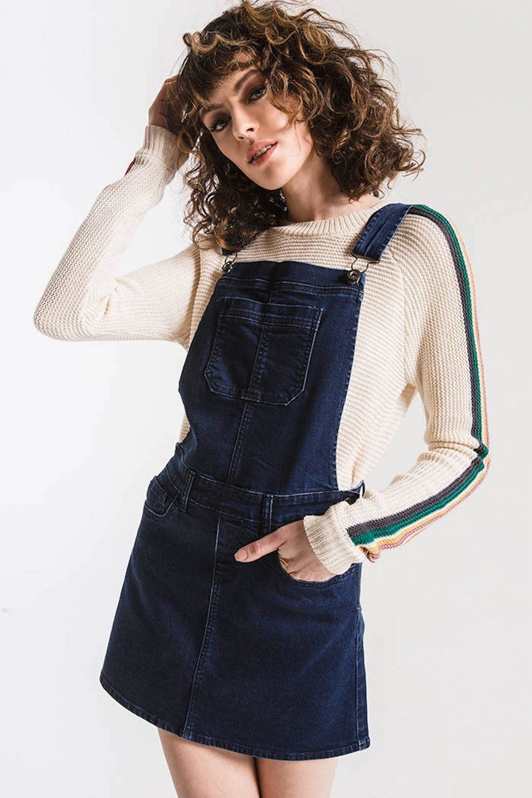 Others Follow  Finley Coverall Dress - Front Full Image