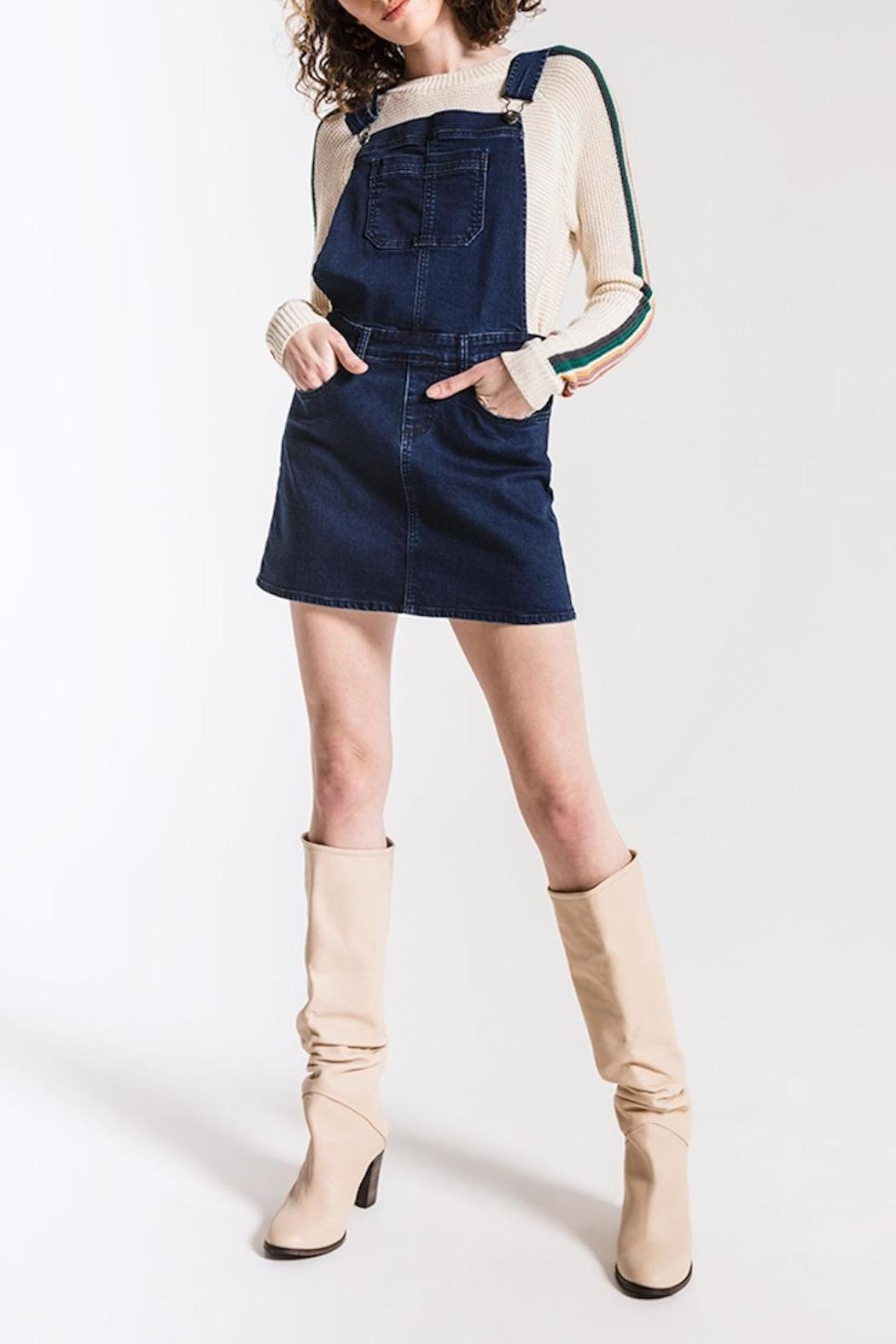 Others Follow  Finley Coverall Dress - Main Image