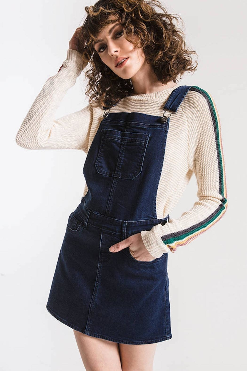 Others Follow  Finley Coverall Dress - Side Cropped Image