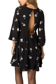 Others Follow  Floral Key Hole Dress - Front full body
