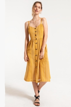 Others Follow  Golden Spring Dress - Product List Image