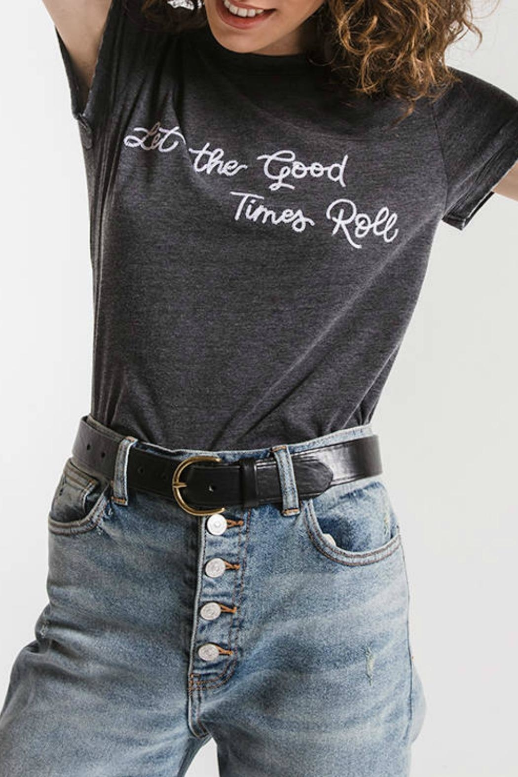 Others Follow  Good Times Tshirt - Front Full Image