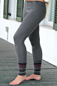 Others Follow  Gray Scotty Leggings - Product List Image