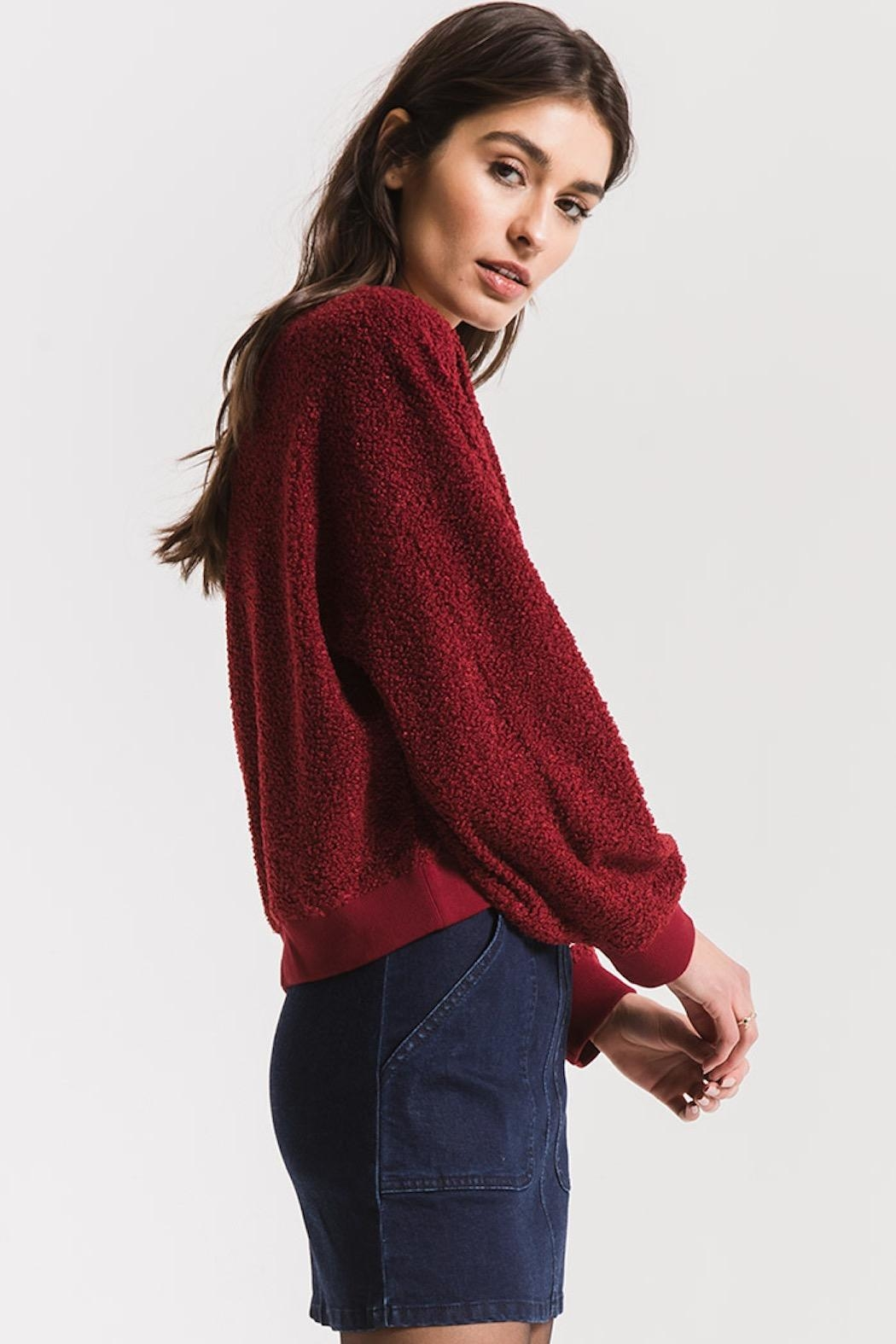 Others Follow  Gwennie Pullover Sweater - Back Cropped Image