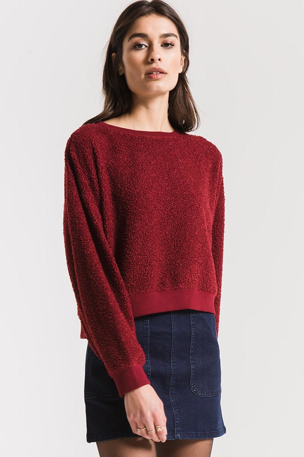 Others Follow  Gwennie Pullover Sweater - Side Cropped Image