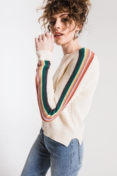 Others Follow  Hawkin Striped Sweater - Product List Image
