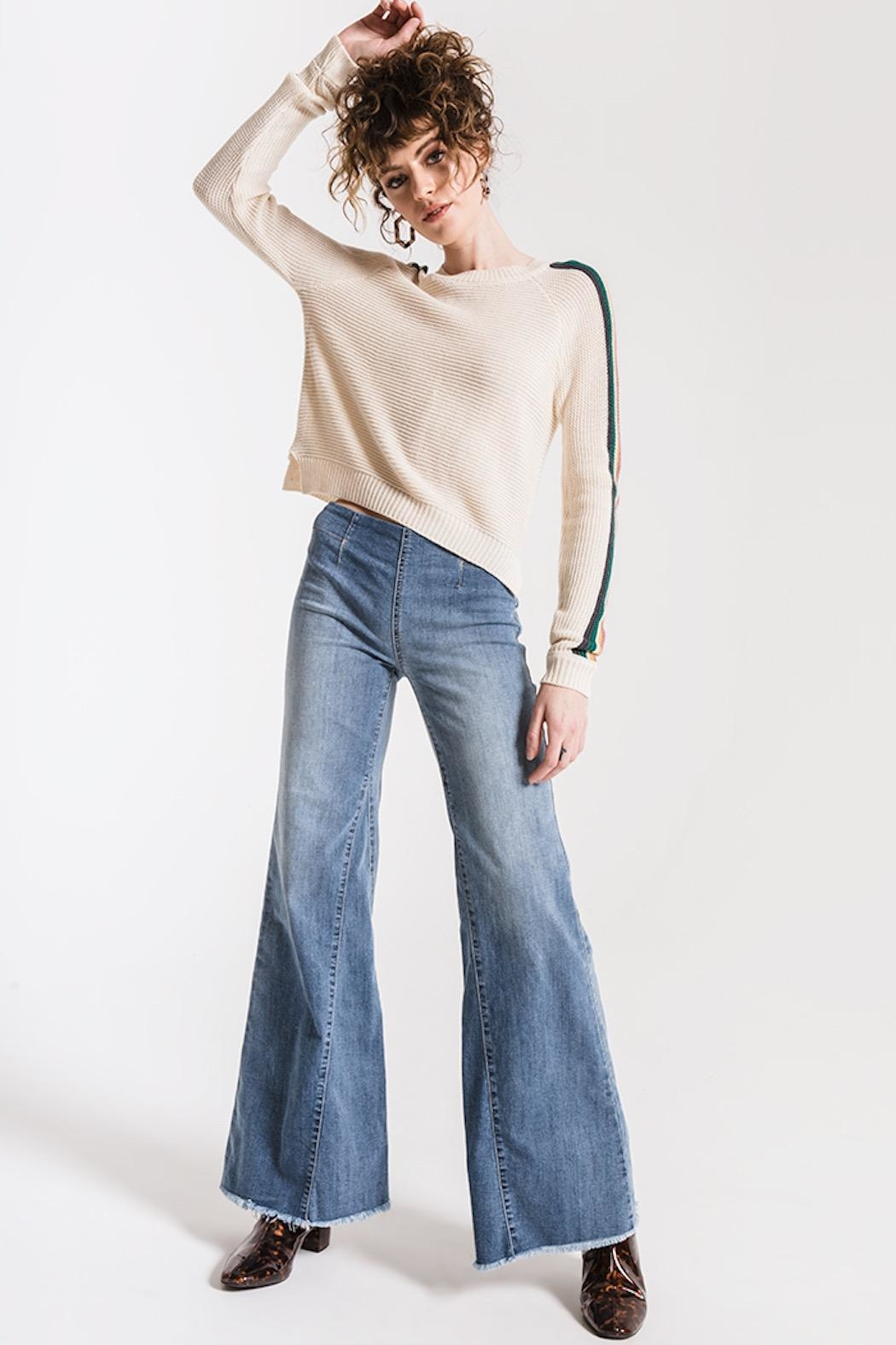 Others Follow  Hawkin Sweater - Back Cropped Image