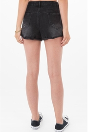 Others Follow  Janis Distressed Shorts - Side cropped