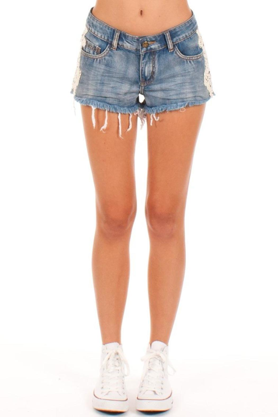 Others Follow  Jean Shorts - Main Image