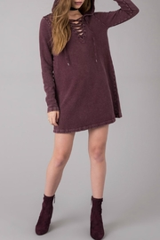 Others Follow  Lace Up Dress - Side cropped