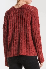 Others Follow  Leony Textured Sweater - Front full body