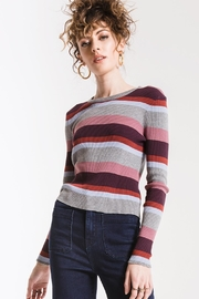 Others Follow  Madeline Striped Top - Front cropped