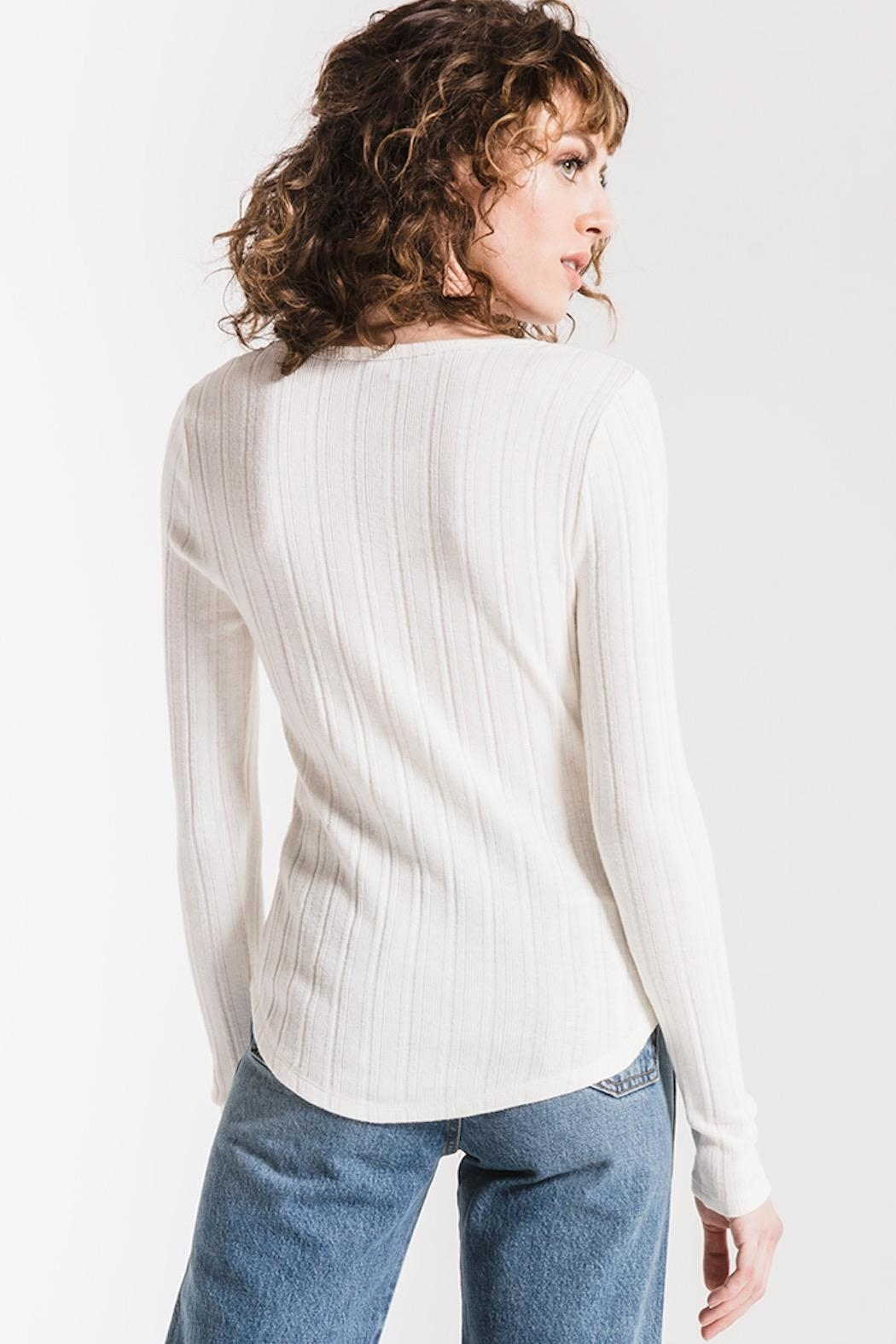 Others Follow  Penny Henley Top - Back Cropped Image