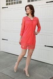 BD Collection Quinn Coral Dress - Product Mini Image