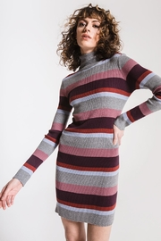 Others Follow  Striped Turtleneck Dress - Product Mini Image