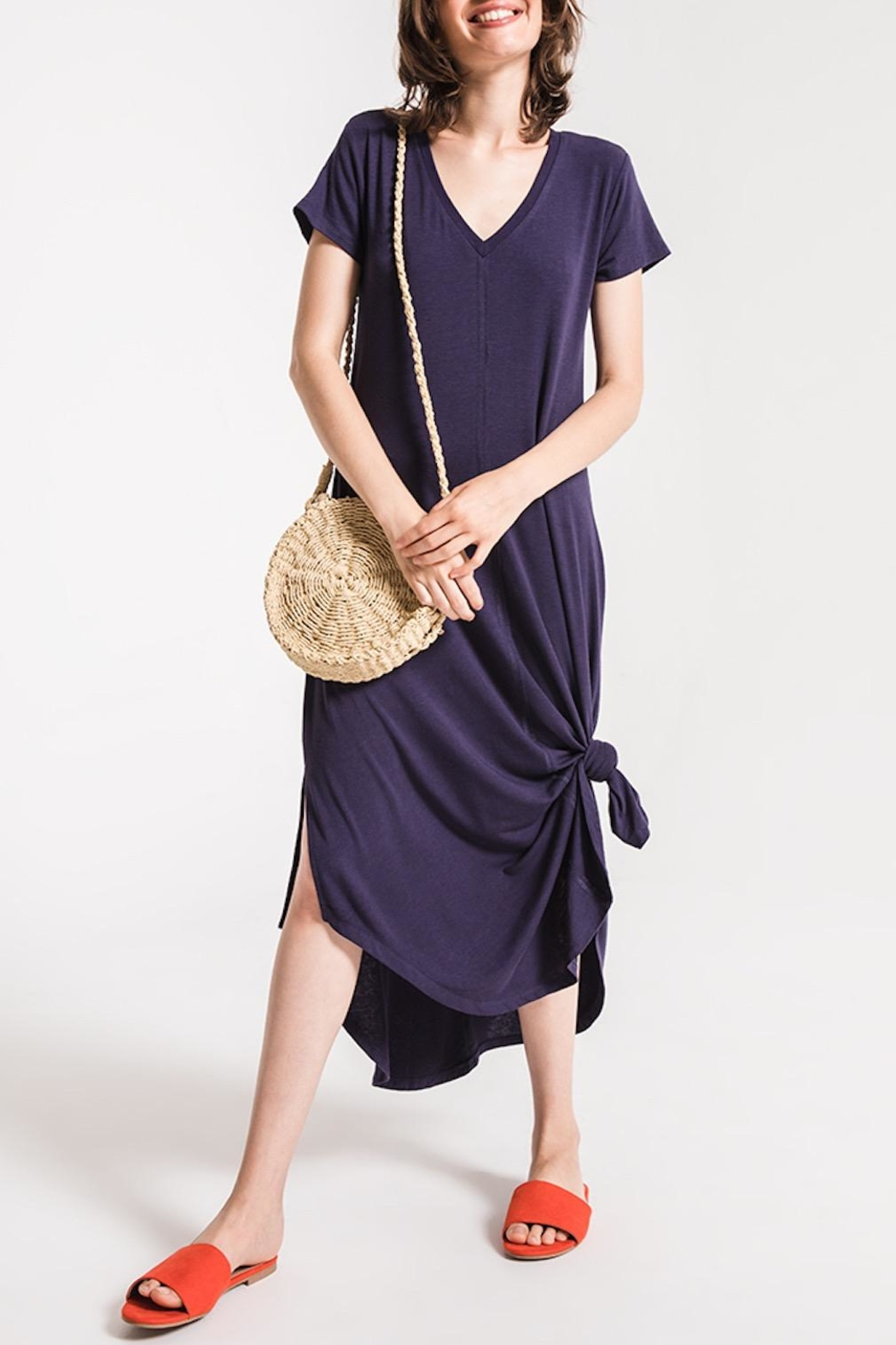Others Follow  T-Shirt Maxi Dress - Front Full Image