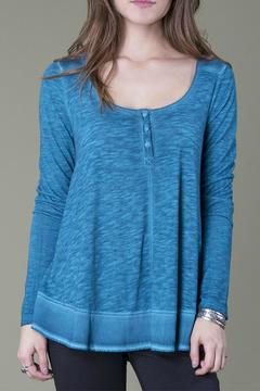 Shoptiques Product: Teal Swing Top