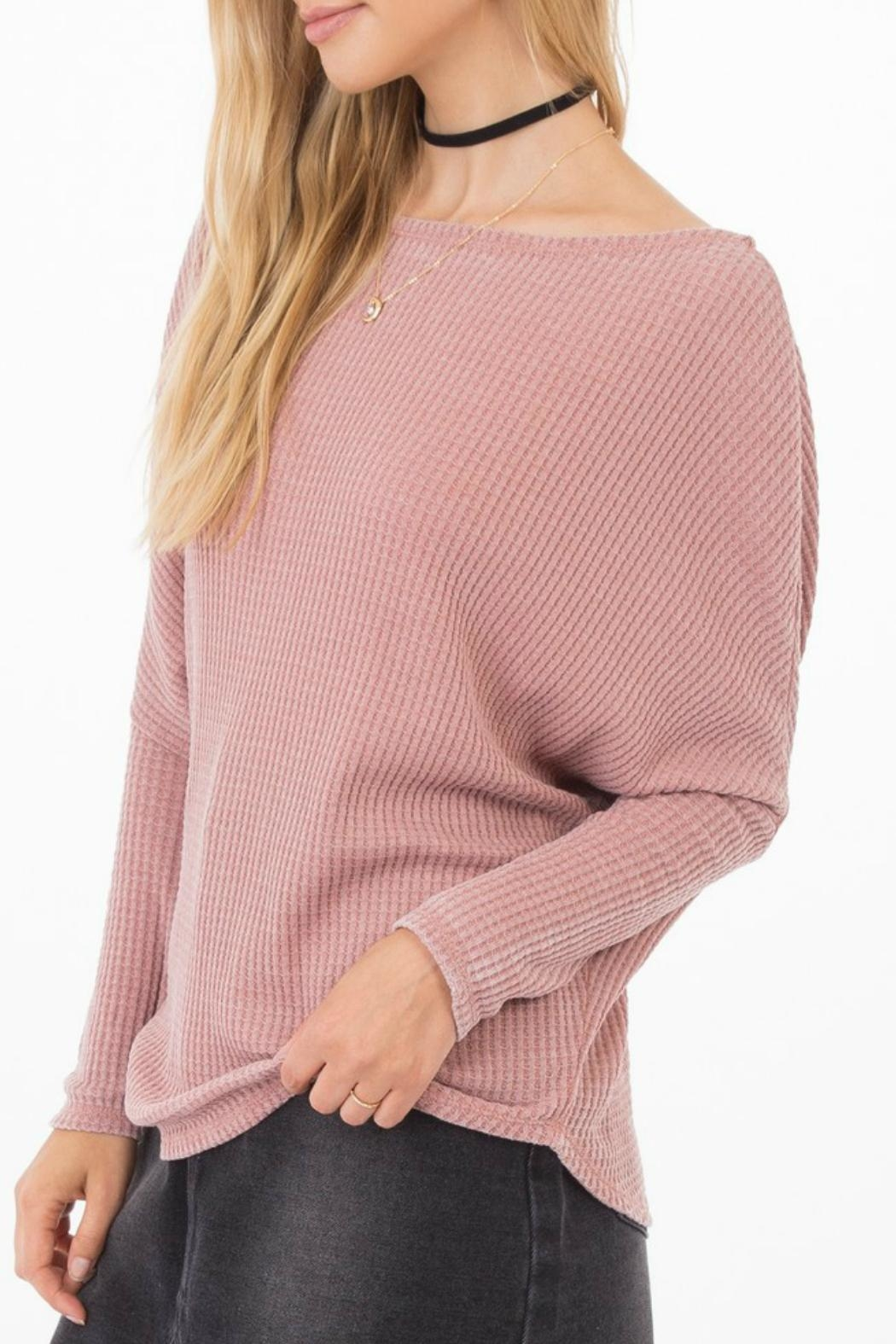 Others Follow  Triumph Dolman Sweater - Front Full Image