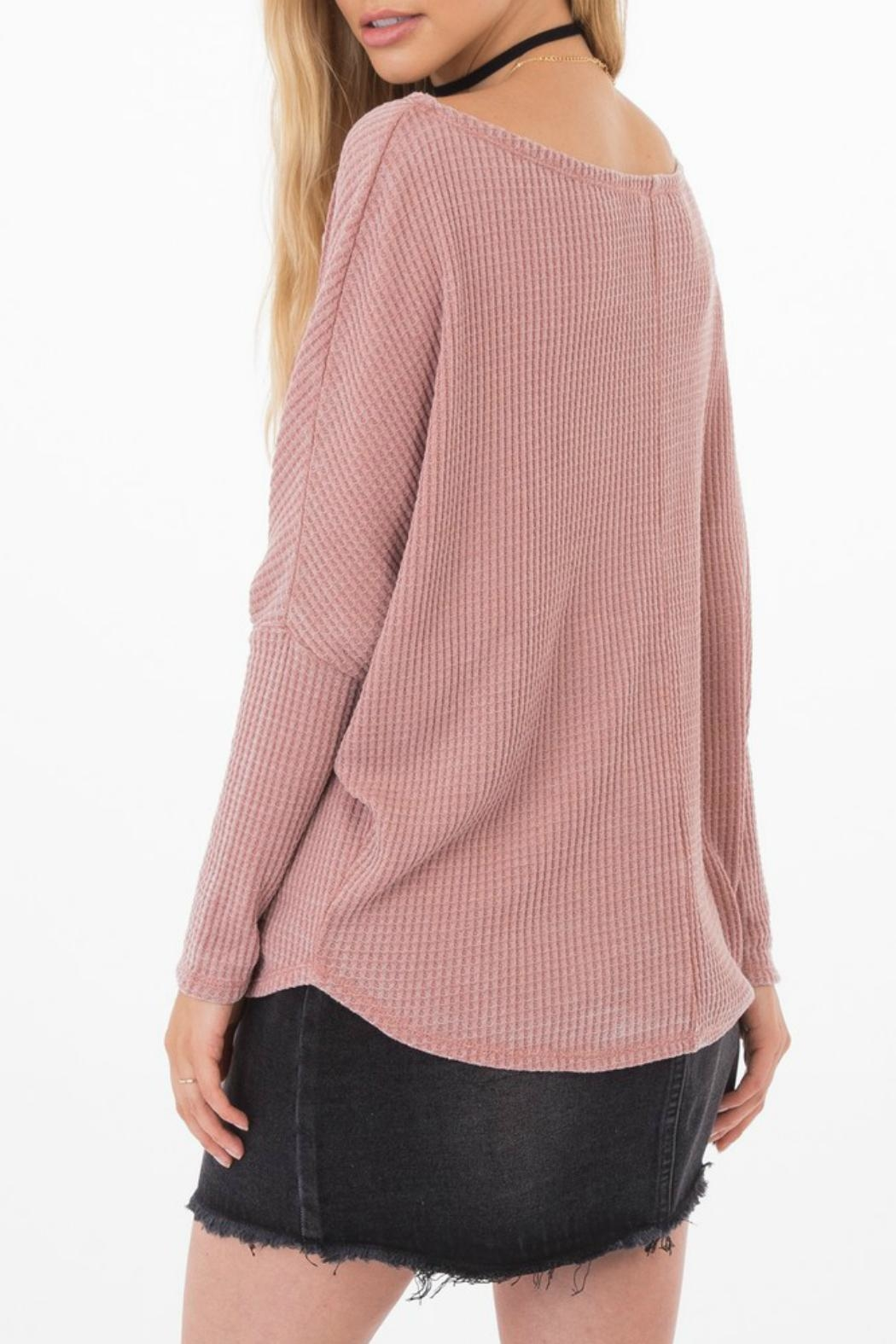 Others Follow  Triumph Dolman Sweater - Side Cropped Image