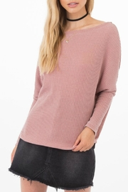 Others Follow  Triumph Dolman Sweater - Front cropped