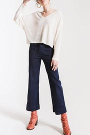 Others Follow  V-Neck Thermal Top - Front cropped