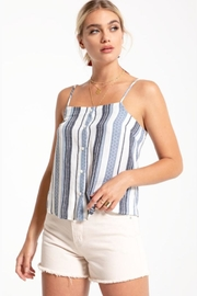 Others Follow  Woven Stripe Top - Product Mini Image