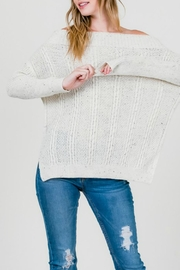 Cozy Casual  Ots Cable-Knit Sweater - Product Mini Image