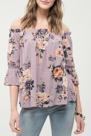 Blu Pepper OTS Floral Top - Product Mini Image