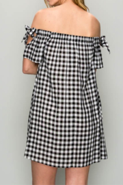 AAKAA OTS Gingham Dress - Side cropped