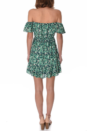 If By Sea OTS Mini Dress - Front full body