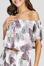 Papermoon OTS Palm Print Top - Product Mini Image