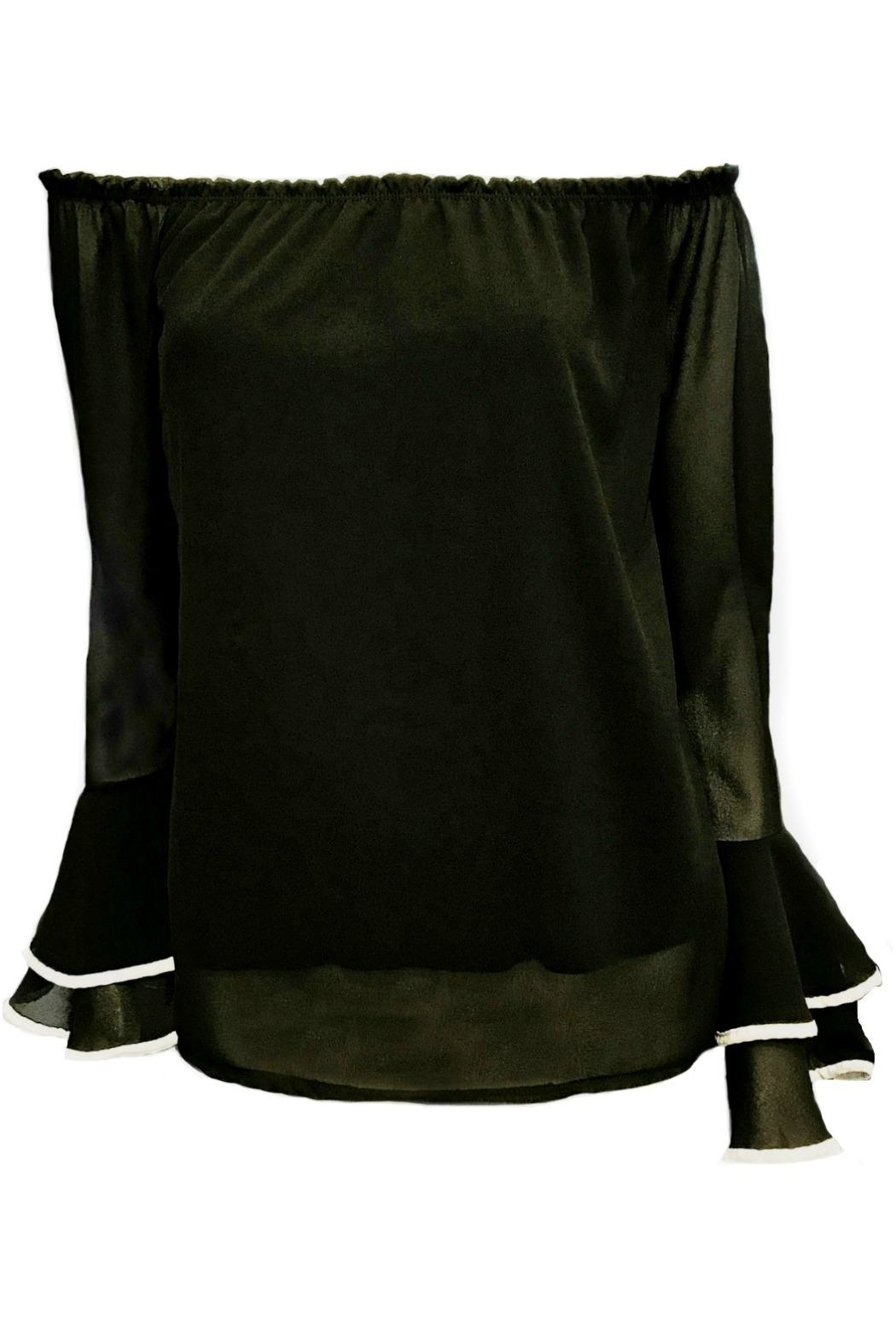 ANTONELLO SERIO Ots Peasant Blouse - Front Cropped Image