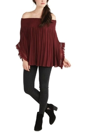 Mud Pie Ots Pinot Top - Front cropped