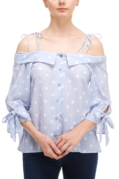Shoptiques Product: Ots Polka-Dot Shirt