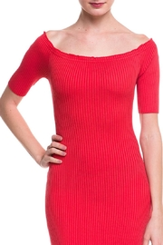 Noble U Ots Ribbed Dress - Front full body