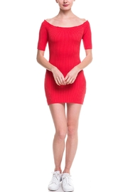 Noble U Ots Ribbed Dress - Product Mini Image