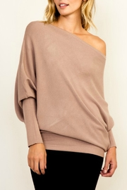 Olivaceous OTS Ribbed Sweater - Product Mini Image