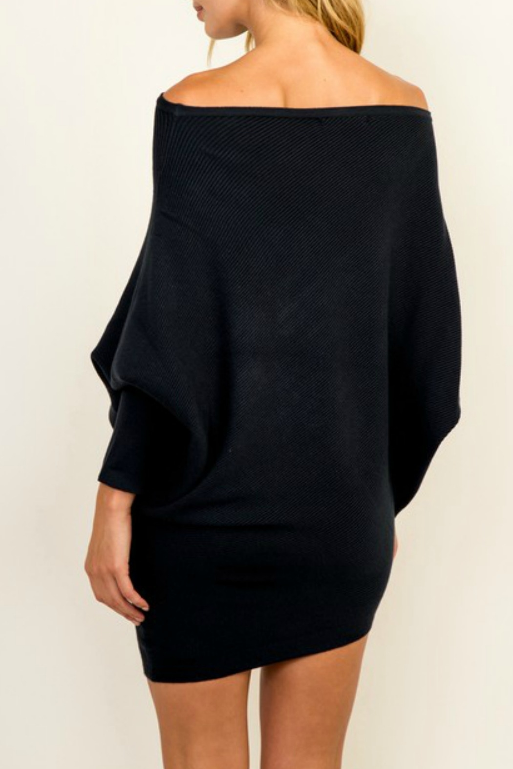 Olivaceous OTS Ribbed Sweater - Side Cropped Image