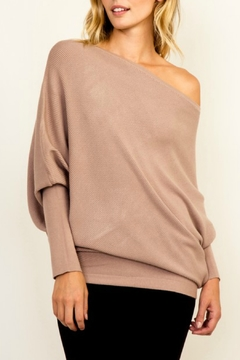 Shoptiques Product: OTS Ribbed Sweater
