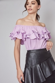 Do + Be  OTS Ruffle Top - Product Mini Image