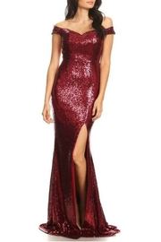 Ricarica OTS Sequin Gown - Product Mini Image