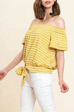 Umgee USA Ots Tie-Front Tee - Product List Image