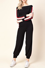 Honey Punch Ots Track Top - Front cropped