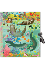 Eeboo Otters Journal - Product Mini Image