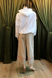 Ottod'ame Cropped Pants - Back cropped