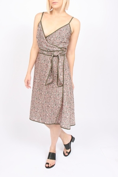 Ottod'ame Floral Wrap Dress - Product List Image