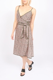 Ottod'ame Floral Wrap Dress - Product Mini Image