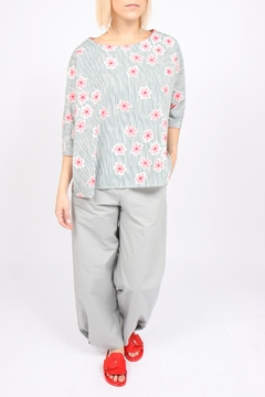 Ottod'ame Mod Floral Top - Product List Image