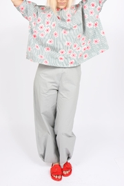 Ottod'ame Mod Floral Top - Front full body