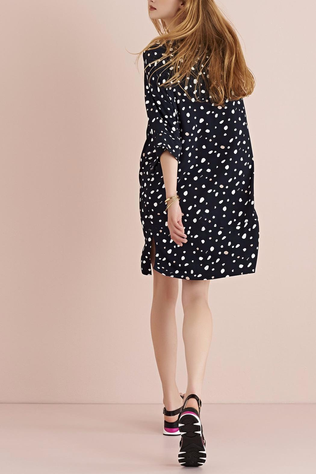 Black printed dress ottod´Ame Clearance In China ZJLpxK1Y